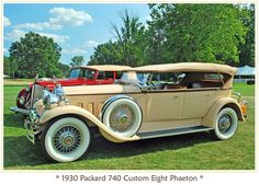1930 Packard Custom Eight. Love this. Wonder how long it is?