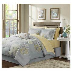 Cornell 9 Piece Comforter Set with Sheet Set