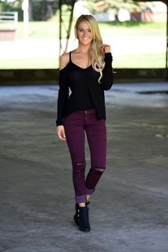 Cozy Cut Out Sweater - Black