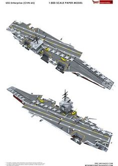 USS Enterprise (CVN-65) , formerly CVA(N)-65 , is the world's first nuclear-powered aircraft carrier and the eighth Uni...
