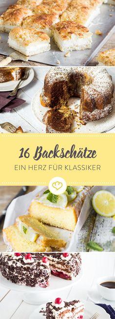Käsekuchen, Streuselkuchen, Apfelkuchen - Omas Kuchen sind die besten! Von ihr für dich - die 16 besten Rezepte aus ihrem Backbuch.