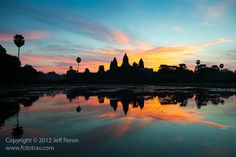 Angkor Wat Sunrise, Cambodia  www.fototrav.com