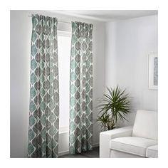 FJÄDERKLINT Curtains, 1 pair  - IKEA