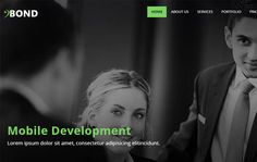 Free Bootstrap-Corporate-Web-Template