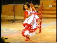 Silvia Moreno (Sevilla) just 5 years old. Fearless fire!