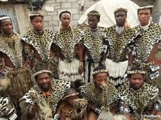 Image result for zulu traditional wear NAMES