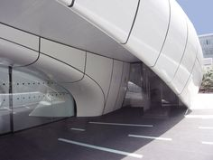 zaha hadid: chanel mobile art pavilion paris...Is this still there?