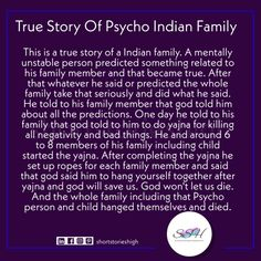 True Story Of Psycho Indian Family, shortstorieshigh, best short stories Short Horror Stories, Best Short Stories, Scary Stories To Tell, True Stories, English Short Stories, English Story, American Horror Story Hotel, Spooky Memes, Indian Family