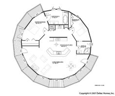 http://www.deltechomes.com/    One of the original deltec floorplans that I liked. Too bad they don't have it posted anymore. This really would be a great house for later in my life when I have more stuff to store! :D