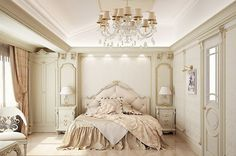 Check Out 20 Elegant French Bedroom Design Ideas. French designs are now getting more and more popular in bedroom decoration.