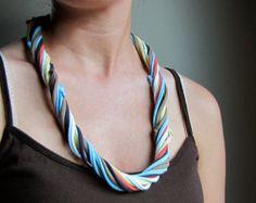 Boho Tshirt Necklace or Bracelet