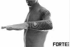 Dillon Forte Tattoo, sacred geometry, blackwork, black ink