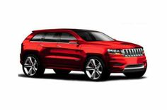2017 Jeep Grand Wagoneer Concept Model