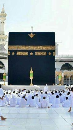 Mekkah Almukarramah Masjid Haram, Mecca Masjid, Mecca Wallpaper, Islamic Wallpaper, Islamic Images, Islamic Pictures, Allah Islam, Islam Quran, Pillars Of Islam