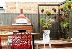 Inspiration from #theblock - Brad & Lara's herb garden