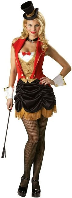 Dazzling Three Ring Hottie Costume for Parties and Halloween.