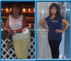 """""""I started with FITTEAM the end of May 2015. I could not lose weight with other programs. I saw posts on Facebook and was curious about this program. Since then I have lost 22 lbs. + many inches as of the end of October 2015 and have so much more energy. I love that FITTEAM FIT has helped me and so many others. I will continue to share this great product every single day."""" -Lucille"""