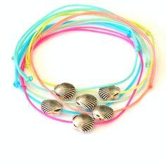 Scallop Shell Bracelets