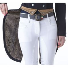 Animo Lunes Women's Dressage Tails --> this would be great for a Western dressage class :D