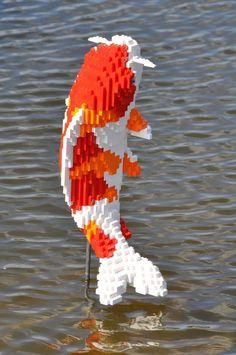 LEGO Koi Fish