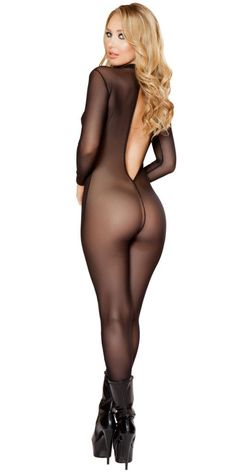 Sexy Sheer Love Lingerie Catsuit Bodystocking  #Holiday #Lingerie #Freeshipping #Gift