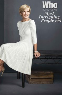 Australia's Foreign Minister, Julie Bishop, in Who Magazine  2014 'Australia's Most Intriguing People List'