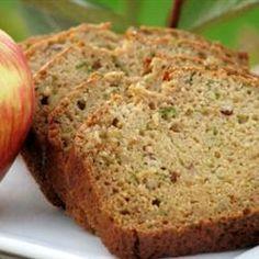 Zucchini Apple Bread Allrecipes.com
