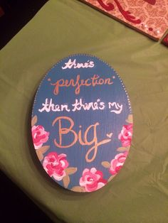 Sorority crafting for big little