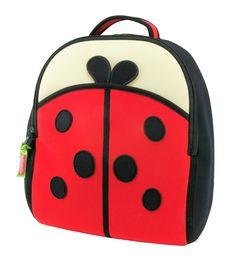 Dabbawalla Kids' Toddler & Preschool Backpack - Cute as a Bug Ladybug Preschool Backpack, Toddler Backpack, Toddler Travel, Backpack Bags, Travel Backpack, San Antonio, Cool Backpacks, Cute Bags, Kids Bags