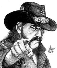 Artes de Lucas!: Motörhead desenho