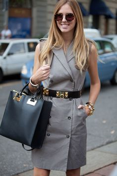 Street Style Spring 2013 - Milan Fashion Week Street Style - Harpers BAZAAR