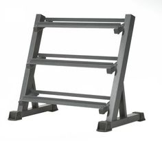 Apex 3-Tier Dumbbell Weight Rack Workout Gym Training Pro Fitness Equipment Gear #Apex