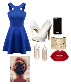 """""""Untitled #194"""" by awesthoff0513 on Polyvore featuring Chicnova Fashion, Michael Antonio, Givenchy, Lanvin and Lime Crime"""