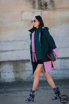 Tendencias de moda: abrigos estampados y con color para animar un d�a fr�o de invierno