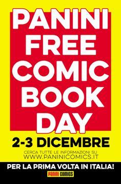 """Panini Free Comic Book Day: per la prima volta anche in Italia"""""""