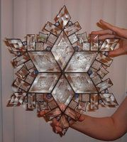 Stained Glass Snowflake 2 by CeltCraft on deviantART