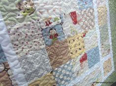 Little  Rascals Baby Boy Quilt Quilted by PatsPassionQuilteds