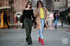 The Best Street Style from New York Fashion Week A/W 2018