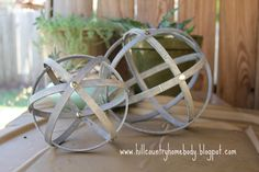 DIY  Spheres using Embroidery Loops  TUTORIAL ~Hill Country Homebody: Sphere Not!