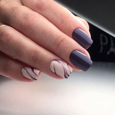 Autumn nails, Beautiful autumn nails, Business nails, Everyday nails, Fall nails 2016, Medium nails, Nails for autumn dress, October nails