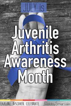 July is Juvenile Arthritis Awareness Month Juvenile Rheumatoid Arthritis, Psoriatic Arthritis, July Awareness Month, Decision Making, Making Decisions, Rheumatic Diseases, Adolescence, Pediatrics, Journaling