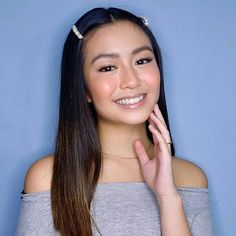 [New] The 10 Best Makeup Ideas Today (with Pictures) - Reposted from - Beauty look of PBB Otso's Soon. -- MakeUp by Hairstyling by -- Special thank you to Mama B ( Sir -- - Butterfly Wallpaper Iphone, Best Makeup Products, Hair Styles, Makeup Ideas, Ash, Beauty, Girls, Pictures, World