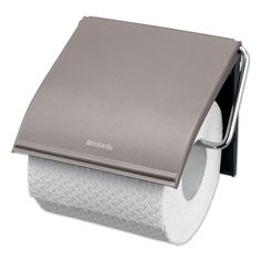 Brabantia Platinum Wall Mounted Steel Toilet Roll Holder Left Or Right Filling Color Menta, Toilet Brush, Steel Plate, Toilet Paper, Wall Mount, Classic, Ebay, Roll Holder, Products
