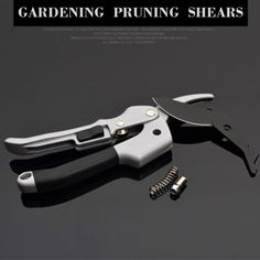 VOZZISOUE Garden Pruning Shear High Carbon SK-5 Steel Labor Saving Scissors Gardening Plant Scissor Branch Pruner Trimmer Tools. #VOZZISOUE #Garden #Pruning #Shear #High #Carbon #Steel #Labor #Saving #Scissors #Gardening #Plant #Scissor #Branch Shearing, Pruning Shears, Scissors, Garden Tools, Gardening, Steel, Plants, Gardening Scissors, Yard Tools