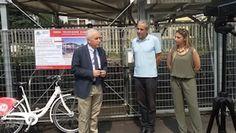 Monza_inaugurazione velostazione + bike sharing Bicincittà