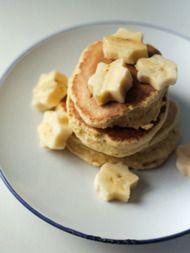Recept gezonde pannenkoeken met ei en banaan