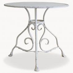 Balmoral Round Iron Table   One World