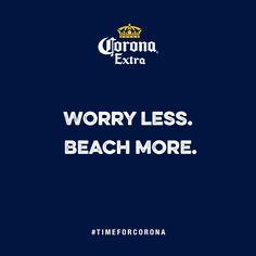 #TimeForCorona  Verewige dich mit deiner eigenen Corona Beach: www.corona.de/beach-cards Beach Cards, No Worries, Corona