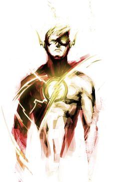 The Flash Artist Naratani Comic Book Characters, Comic Character, Comic Books Art, Comic Art, Heros Comics, Dc Heroes, Marvel Vs, Marvel Dc Comics, Flash Comics