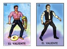 mexican loteria + star wars twist